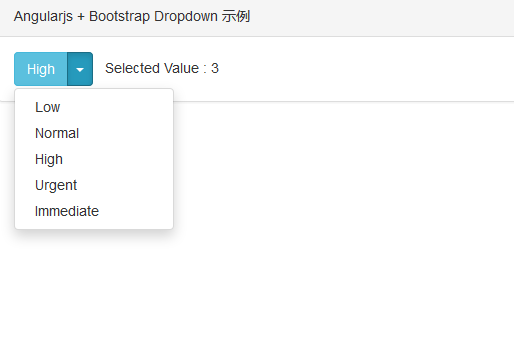 angularjs-bootstrap-dropdown-demo