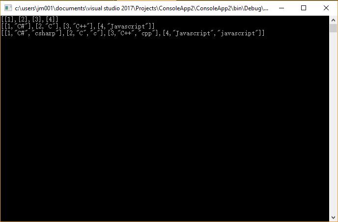 C#/.NET中泛型对象集合(List)转换成二维数组对象的静态扩展方法(Lambda参数支持对象的任意属性)