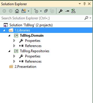 一步一步创建ASP.NET MVC5程序--Repository+Autofac+Automapper+SqlSugar--创建项目完成TsBlog.Repositories
