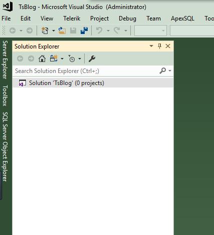 一步一步创建ASP.NET MVC5程序--Repository+Autofac+Automapper+SqlSugar--创建项目解决方案完成